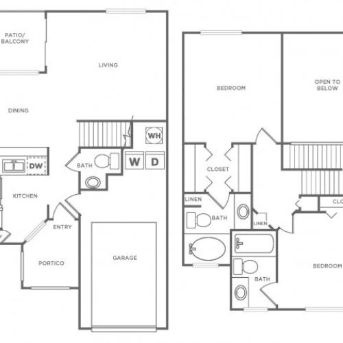 TH Platinum | 2 bed 2 bath | from 1220 square feet