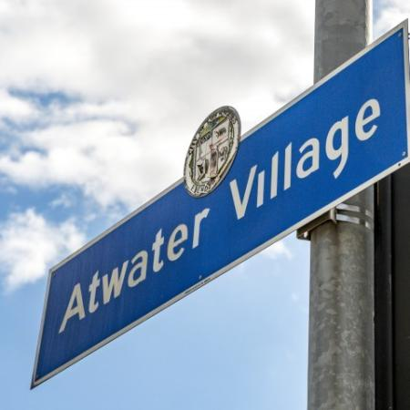 Atwater Village Sign - Local Area