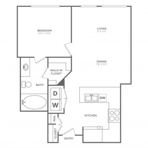 Prestige | 1 bed 1 bath | from 615 square feet