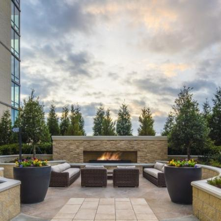 Outdoor Fire seating