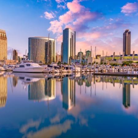 San Diego Water Front Area + Downtown