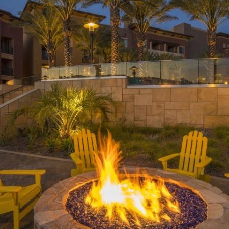 Outdoor Lounge + Firepit