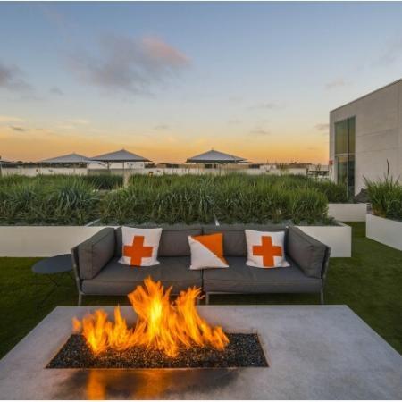 Rooftop Deck + Firepit