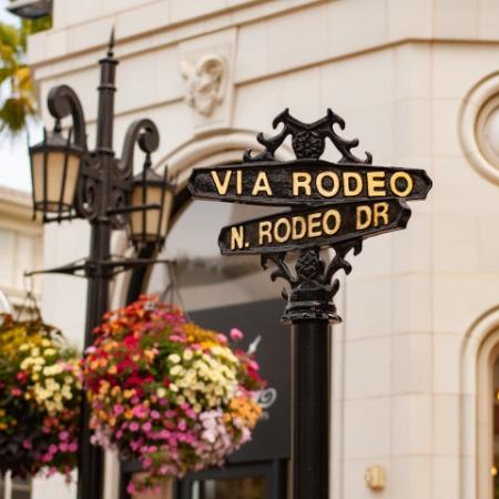 Rodeo Drive and Street Signs