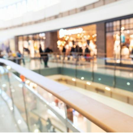 Indoor shopping center