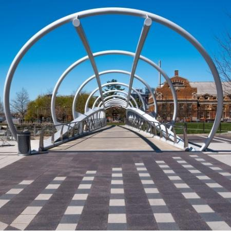 The Bridge at the Yards Park in Navy Yard Capitol Riverfront