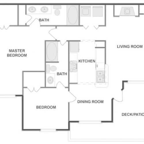 C4B - Sophisticated | 2 bed 2 bath | from 1091 square feet