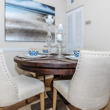 Convenient Dinning Alcoves