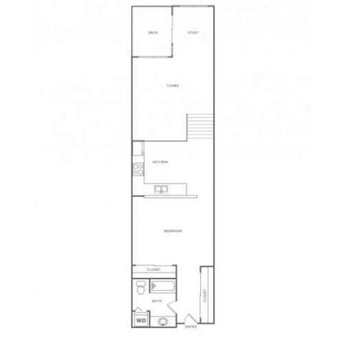 Single Story Loft Plus - Sophisticated