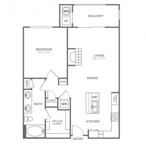 Arlington | 1 bed 1 bath | from 785 square feet