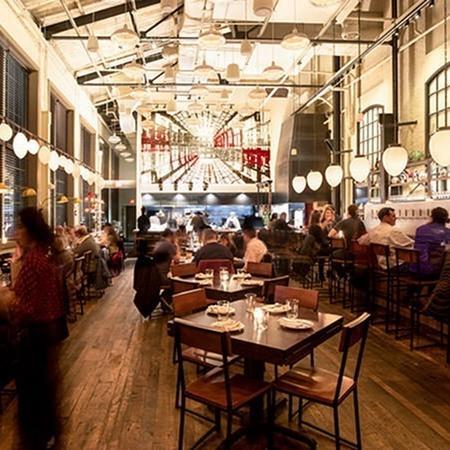 Local restaurant environment