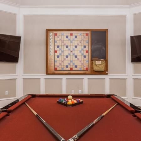 Resident Pool Table