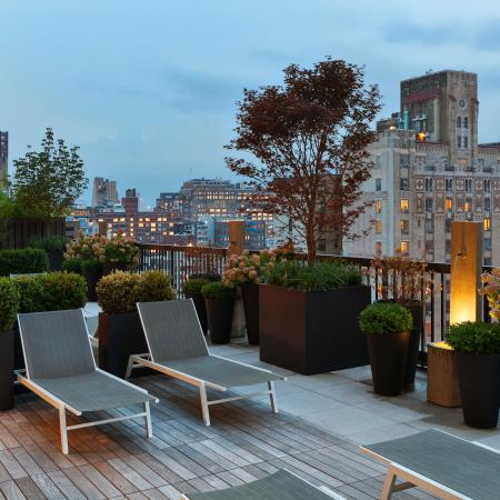 rooftop deck seating