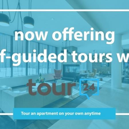 Now offering self-guided tours with tour24