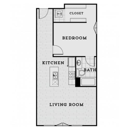 DA1R-Tailored One Bedroom