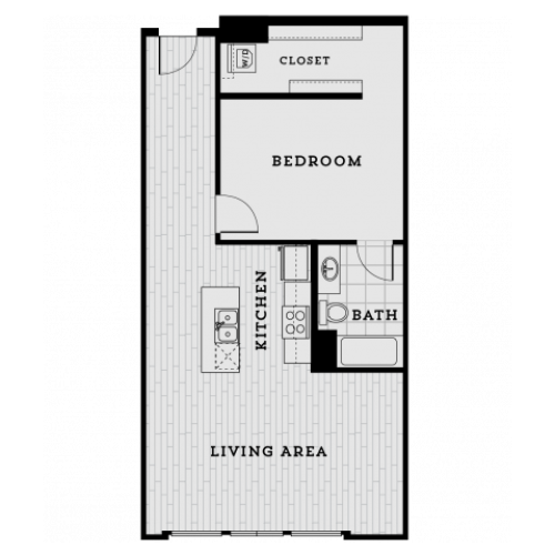 DA3R-Tailored One Bedroom