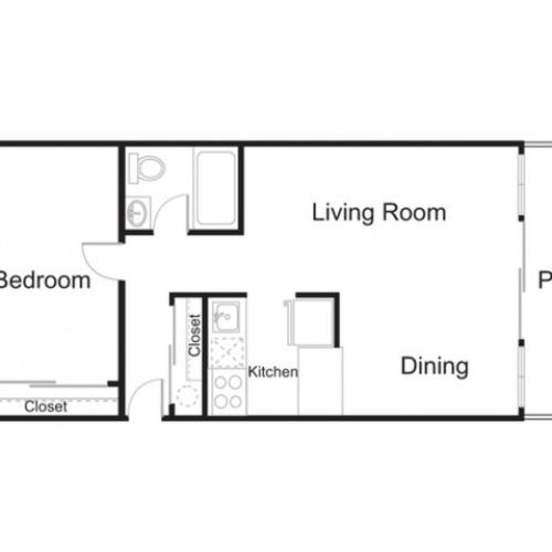 slb4 1 bed 1 bath