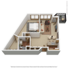 A6r | 1 bed 1 bath | from 931 sq. ft.