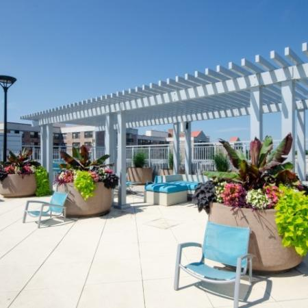 stunning view from rooftop pooldeck