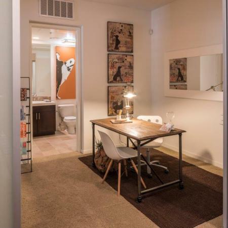 Office + Bathroom