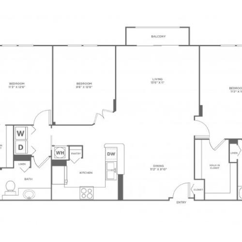 Tide - Platinum | 3 bed 2 bath | from 1429 square feet