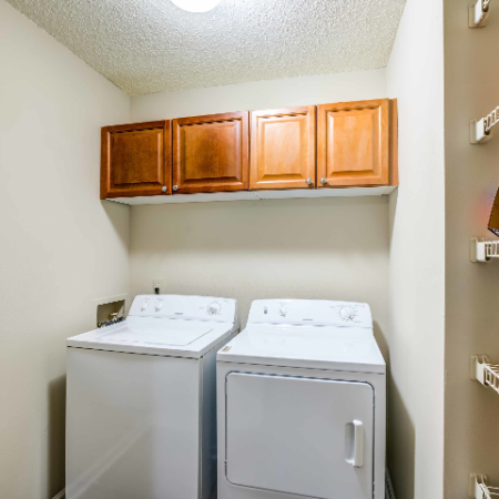 Apartment with Washer and Dryer