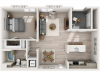 A4 | 1 bed 1 bath | from 866 square feet