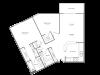 2 Bedroom 2 Bathroom B6r2 | from 1044 sq ft