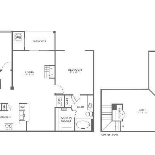B3.1 Sophisticated | 2 bed 2 bath | from 1366 square feet