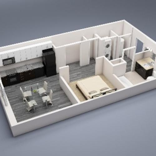 Princeton 1 Floor Plan