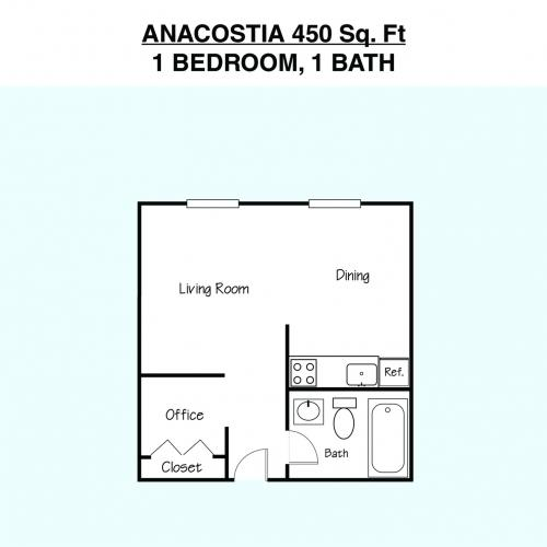 Anacostia Floor Plan