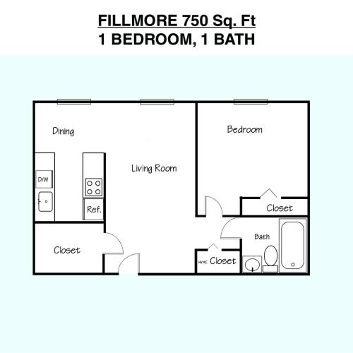Fillmore Floor Plan