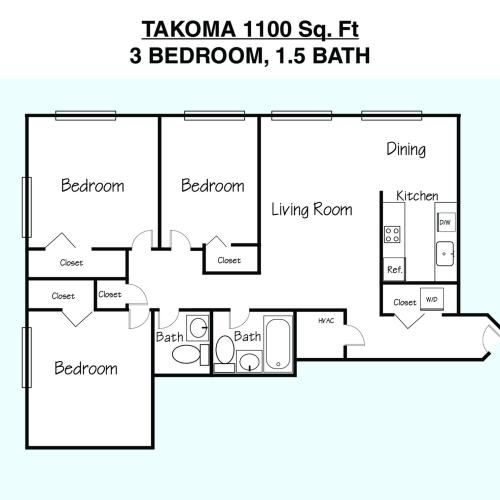 Takoma Floor Plan