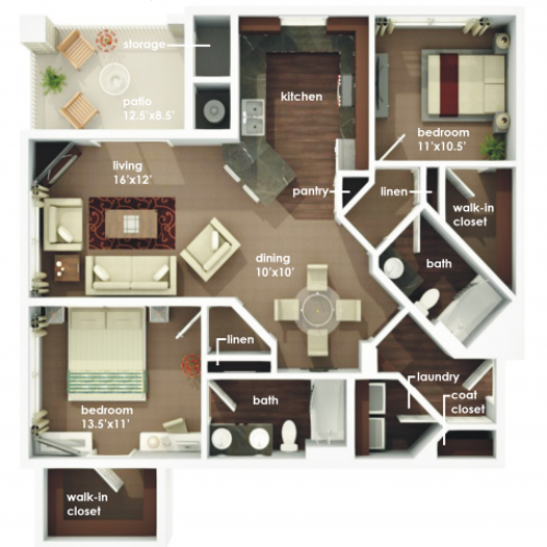 Apartments In Rapid City Sd: 3 Bed / 2 Bath Apartment In Rapid City SD