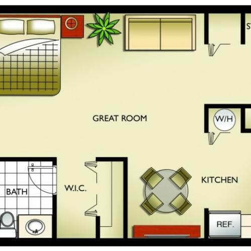2 Bed / 2 Bath Apartment In Miami FL