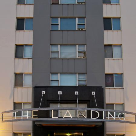 The Landing Apartments Exterior Building View In Salt Lake City Near The University of Utah