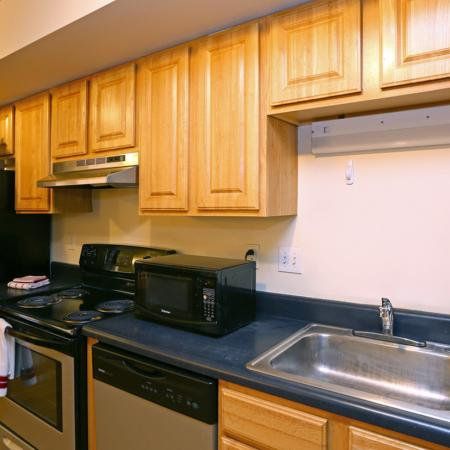 Midtown Lofts Apartments Furnished Apartment Kitchen