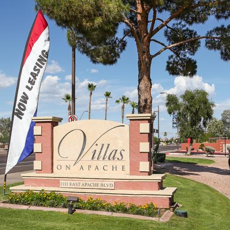 Villas on Apache Apartments In Tempe Near Arizona State University