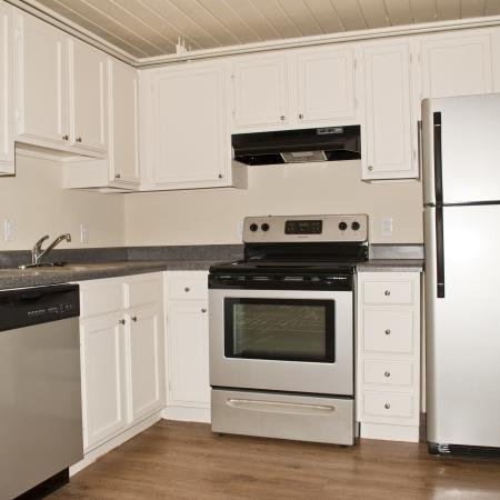 The Lofts Apartments Furnished Apartment Kitchen