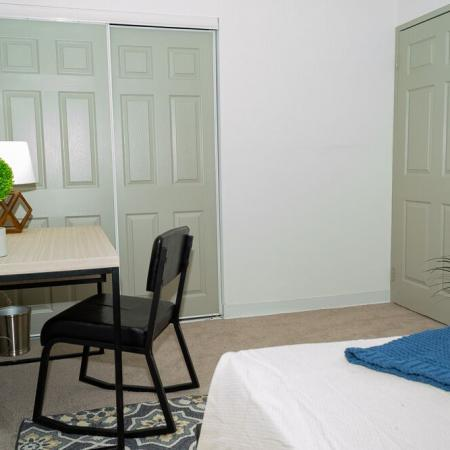 Furnished Apartment Bedroom Carriage House Apartments