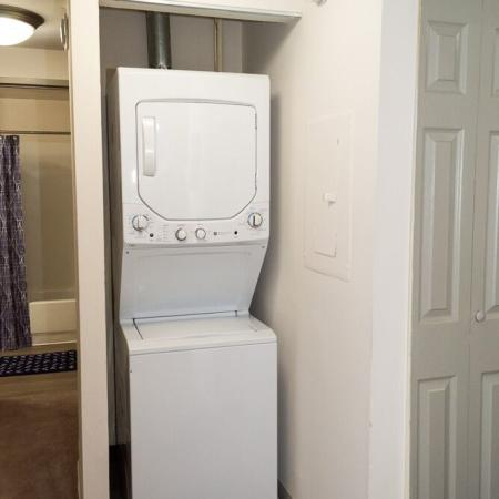 Carriage House Apartments In-Unit Washer And Dryer