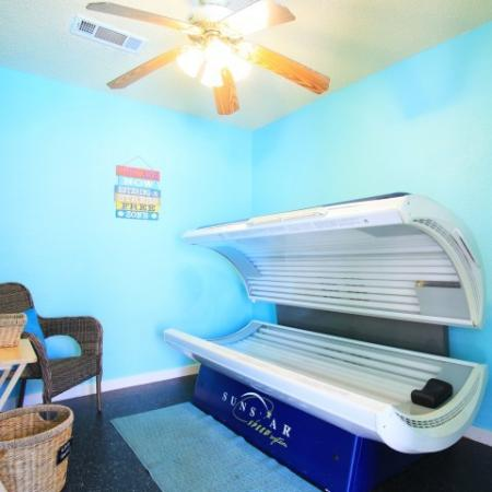 Post Oak Apartments Lifestyle - Tanning Bed