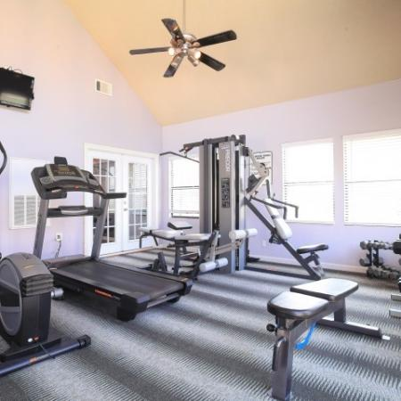 Post Oak Apartments Lifestyle - Fitness Center