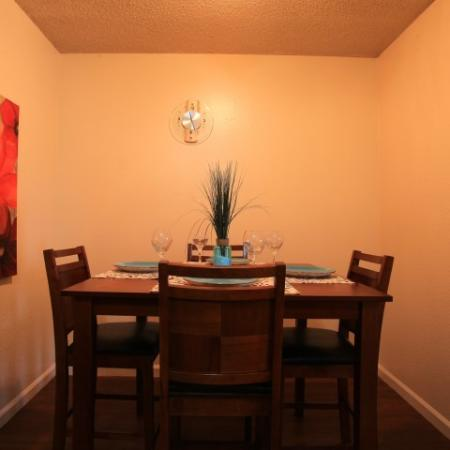Post Oak Apartments Furnished Apartment Dining Room