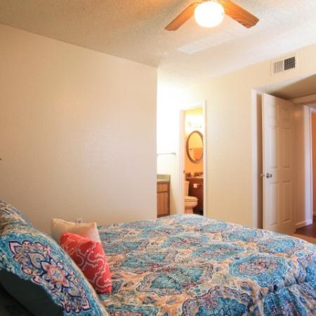 Post Oak Apartments Furnished Apartment Bedroom