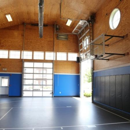 Campus Court at Red Mile Apartments Lifestyle - Basketball Court