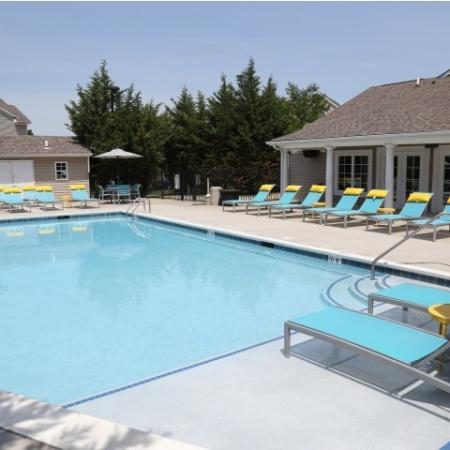 Campus Court at Red Mile Apartments Lifestyle - Pool