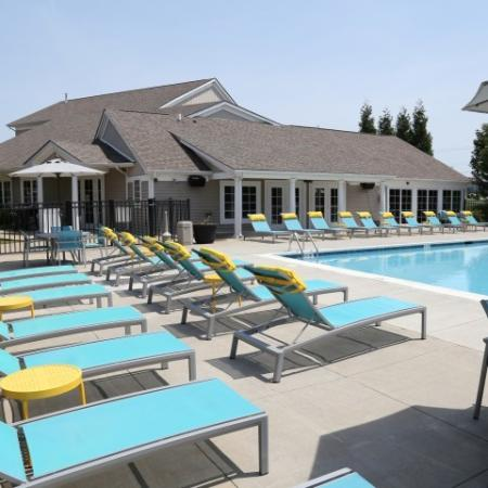 Campus Court at Red Mile Apartments Lifestyle - Pool Deck  Pool