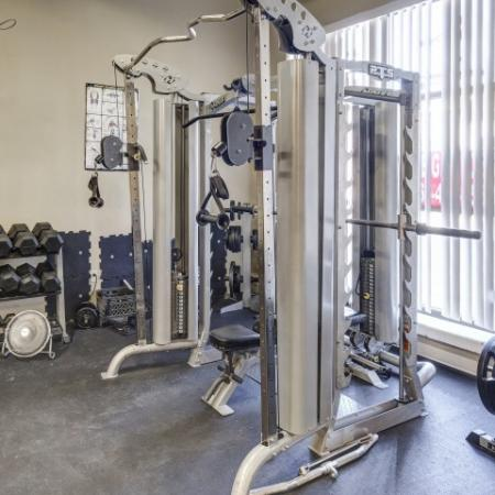 River Market Apartments Lifestyle - Fitness Center