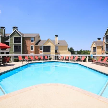 Post Oak Apartments Lifestyle - Pool Deck And Pool